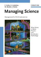 Managing Science PDF