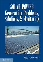 Solar Power Generation Problems, Solutions and Monitoring