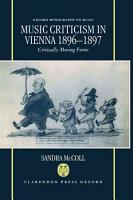 Music Criticism in Vienna  1896 1897 PDF