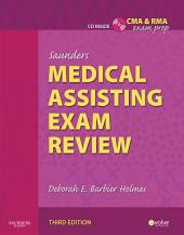 Saunders Medical Assisting Exam Review - E-Book: Edition 3