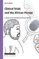 Clinical Trials and the African Person PDF