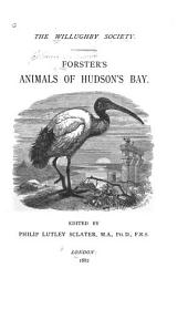 Forster's Animals of Hudson's Bay