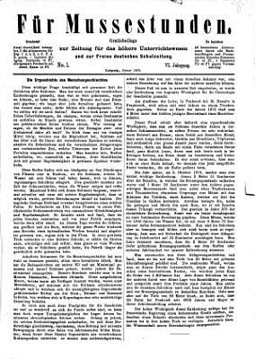 Zeitung f  r das h  here Unterrichtswesen Deutschlands PDF
