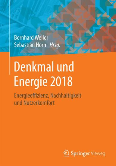 Denkmal und Energie 2018 PDF