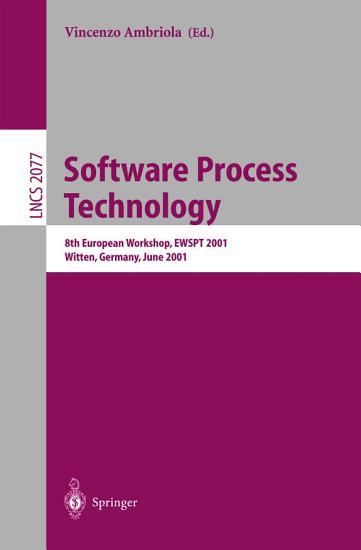 Software Process Technology PDF