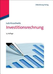 Investitionsrechnung: Ausgabe 13