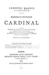 ... Madame et monsieur Cardinal ...: Douze vignettes