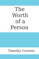 The Worth Of A Person