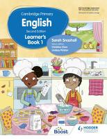 Cambridge Primary English Learner   s Book 1 Second Edition PDF