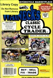 WALNECK'S CLASSIC CYCLE TRADER, DECEMBER 1998