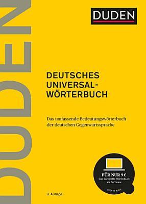 Duden   Deutsches Universalw  rterbuch PDF