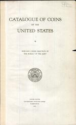 Catalogue of Coins of the United States