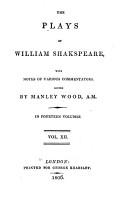 The Plays of William Shakespeare  Antony and Cleopatra  Cymbeline PDF