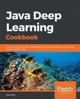 Java Deep Learning Cookbook PDF