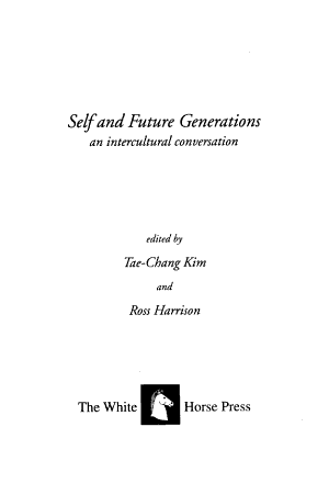 Self and Future Generations