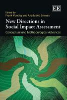 New Directions in Social Impact Assessment PDF