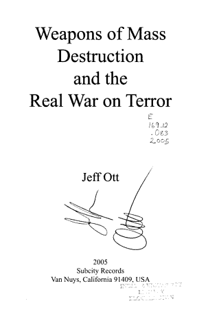 Weapons of Mass Destruction and the Real War on Terror PDF