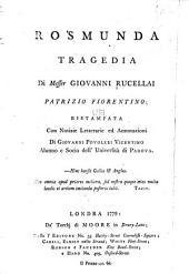 Rosmunda: tragedia