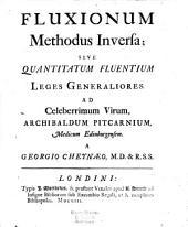 Fluxionum methodus inversa