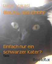 Blacky, das Einohr: Einfach nur ein schwarzer Kater?