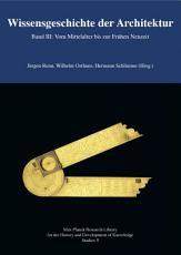 Wissensgeschichte der Architektur Band III PDF