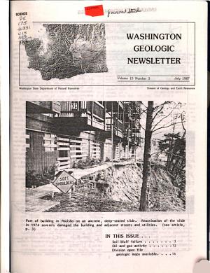 Washington Geologic Newsletter PDF
