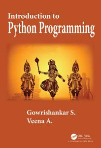 Introduction to Python Programming PDF