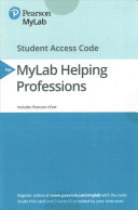 An Introduction To Human Services Mylab Helping Professions Pearson Etext Access Code Book PDF