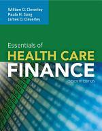 Essentials of Health Care Finance