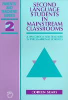Second Language Students in Mainstream Classrooms PDF