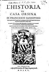 L'Historia di Casa Orsina