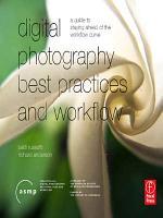 Digital Photography Best Practices and Workflow Handbook