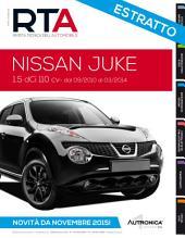 Manuale di riparazione Nissan Juke - RTA266: Rivista Tecnica dell'Automobile estratto dimostrativo