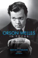 Orson Welles in Focus PDF