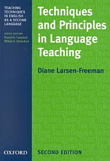 Techniques and Principles in Language Teaching Book