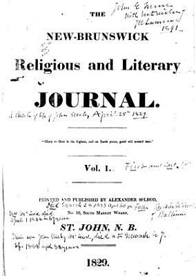 The New Brunswick Religious and Literary Journal PDF