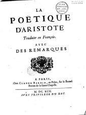La poétique d'Aristote, trad. en français, avec des remarques /par Dacier