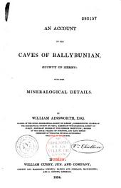 An account of the caves of Ballybunian, county of Kerry