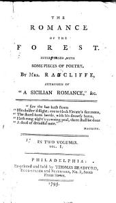 The Romance of the Forest: Interspersed with Some Pieces of Poetry