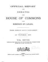 Official Report of Debates, House of Commons: Volume 28