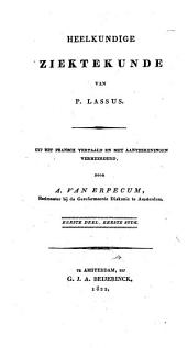 Heelkundige ziektekunde: Volume 1