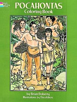 Pocahontas Coloring Book PDF