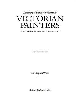 Victorian Painters  Historical survey and plates PDF