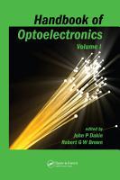 Handbook of Optoelectronics  Two Volume Set  PDF