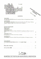 Polish Sociological Review PDF