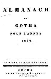 Almanach de Gotha: annuaire généalogique, diplomatique et statistique