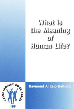 What is the Meaning of Human Life  PDF