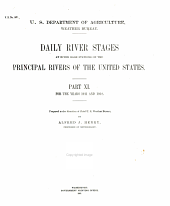 Daily River Stages at River-guage Stations on the Principal Rivers of the United States for the Years 1858-: Volumes 11-13