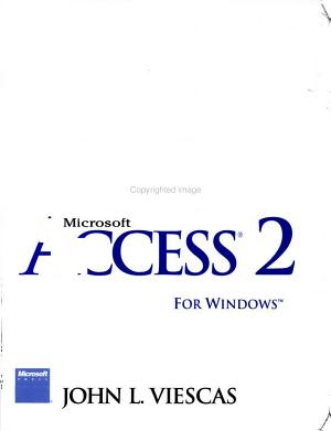 Running Microsoft Access 2 for Windows PDF