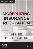 Modernizing Insurance Regulation PDF